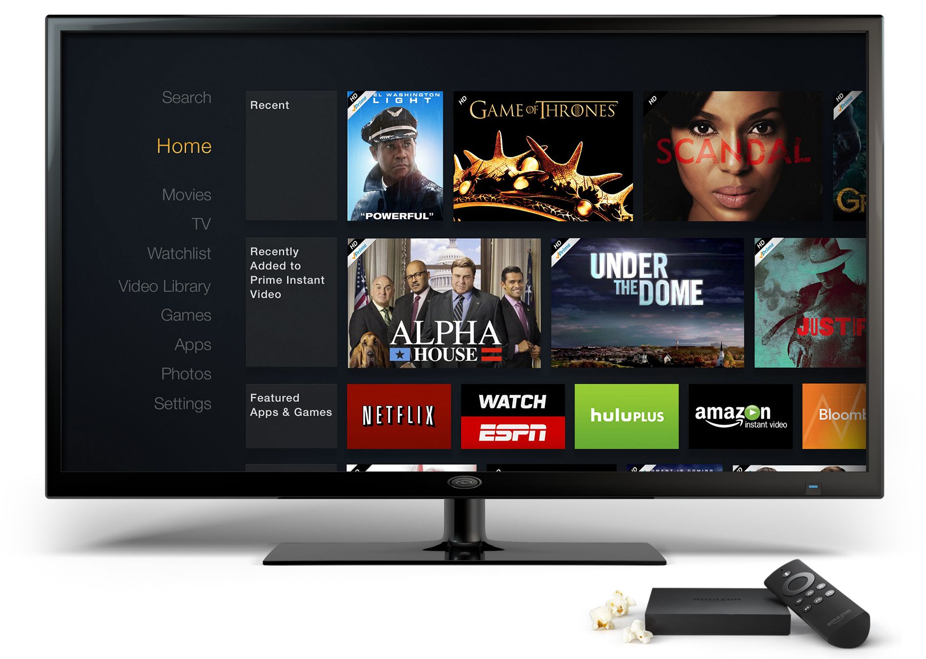 Amazon Fire TV (Homescreen 002)
