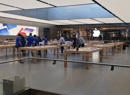 Apple Stores (Istanbul, Turkey, image 006, interior)