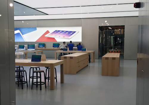 Apple Stores (Istanbul, Turkey, image 007, interior)