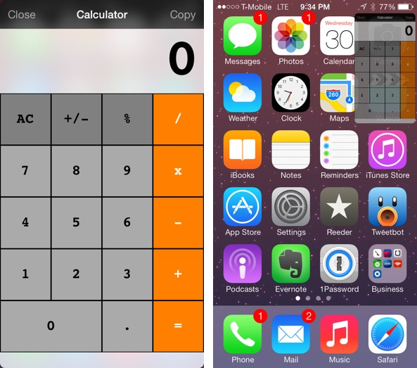 Calculator ProWidget
