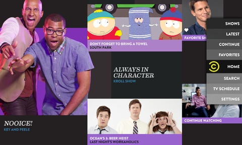 Comedy Central 1.0 for iOS (iPhone screenshot 002)