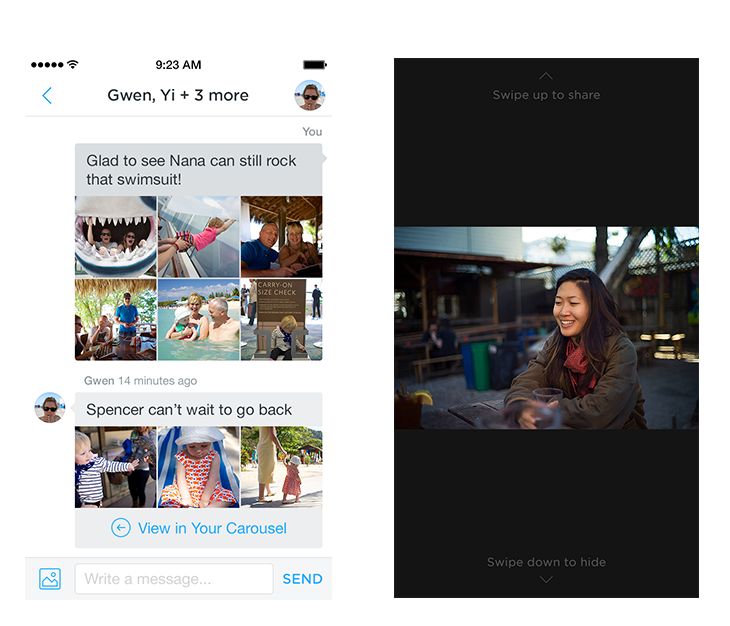 Dropbox Carousel (iPhone screenshot 001)
