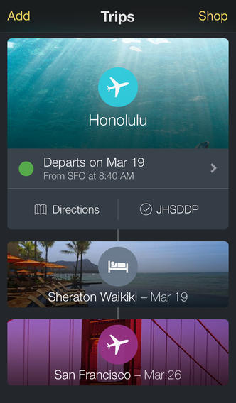Expedia 3.6 for iOS (iPhone screenshot 003)