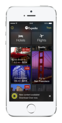 Expedia 3.6 for iOS (iPhone screenshot 005)