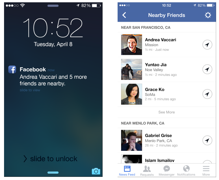 Facebook launches its own Find My Friends feature
