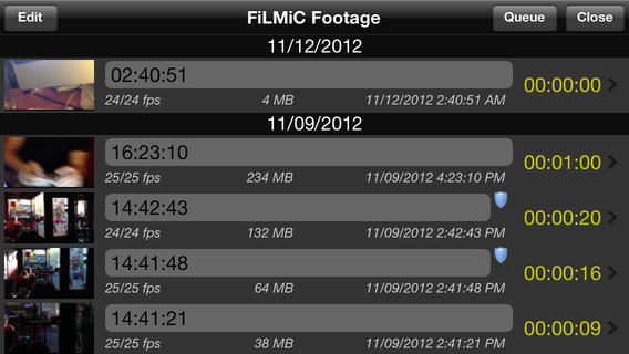 FiLMiC Pro 3.5.2 for iOS (iPhone screenshot 003)