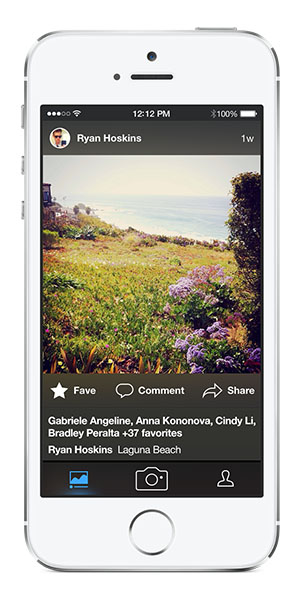 Flickr 3.0 for iOS (Search, Auto-Tagging)
