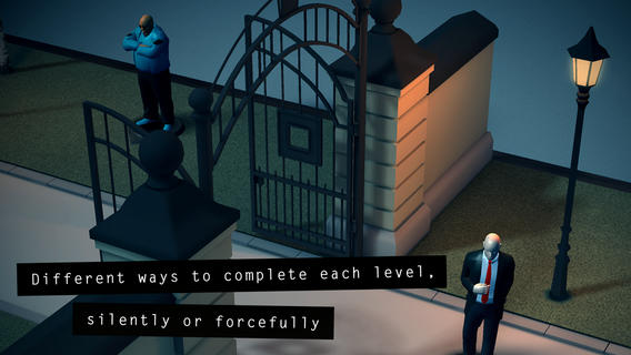 Hitman Go 1.2 for iOS (iPhone screenshot 004)