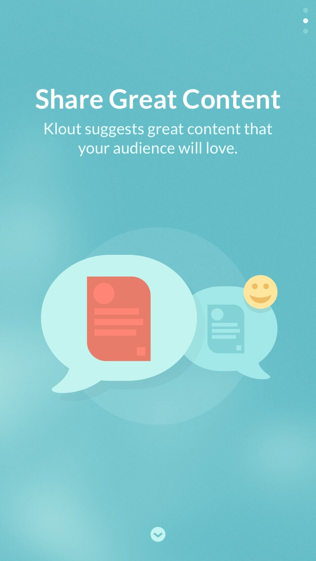 Klout 2.0 for iOS (iPhone screenshot 002)
