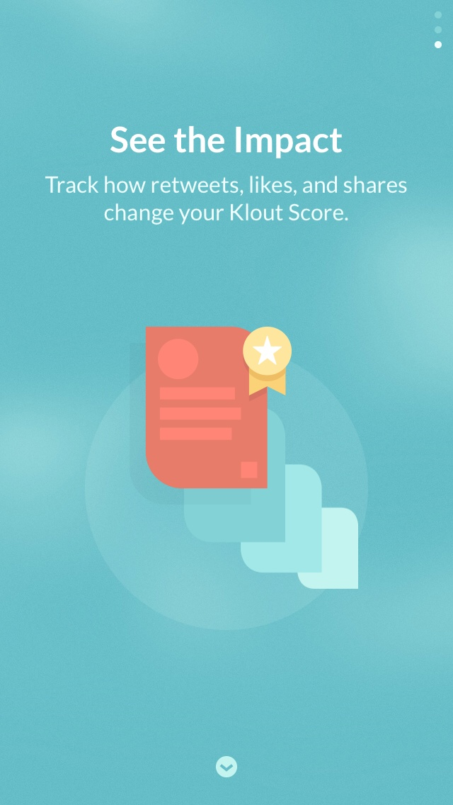 Klout 2.0 for iOS (iPhone screenshot 003)