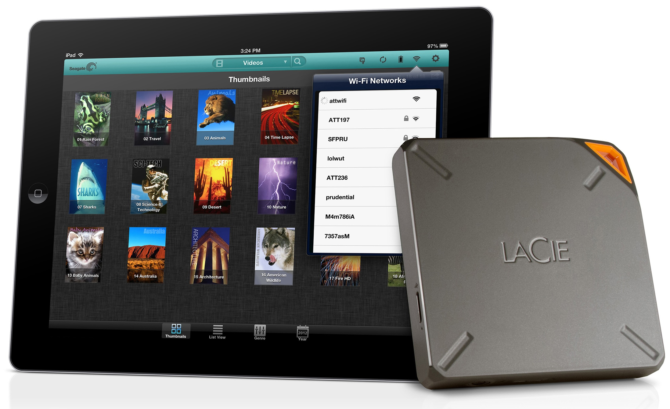 Lacie Fuel (iPad)