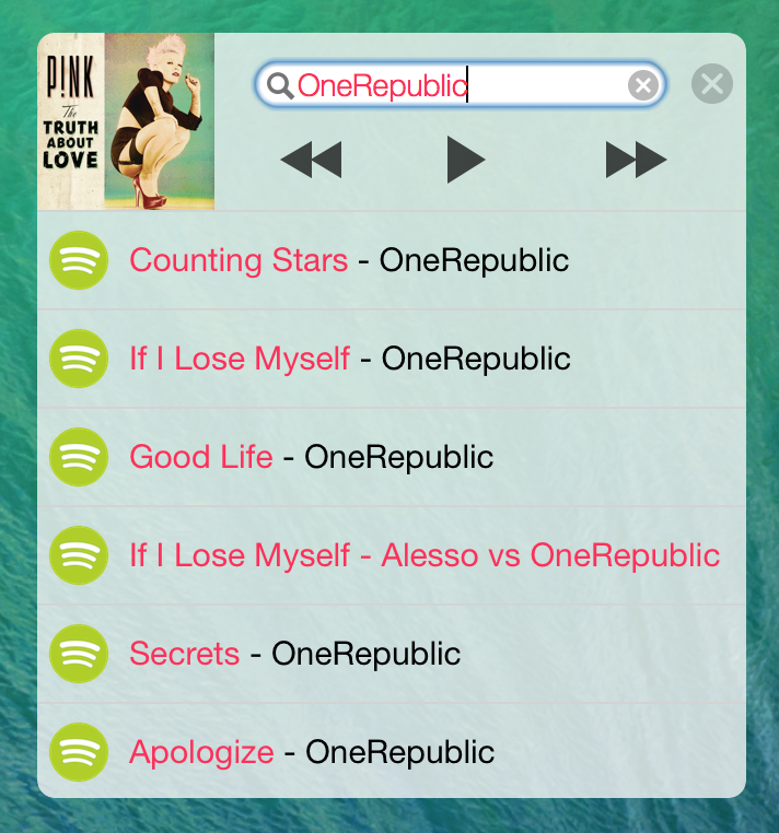 MiniPlayer for Mac (screenshot 002)