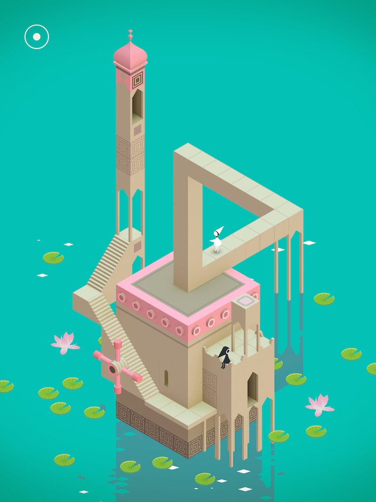 Monument Valley for iOS (iPhone screenshot 001)