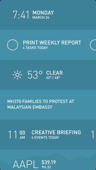 Morning 1.5 for iOS (iPhone screenshot 001)