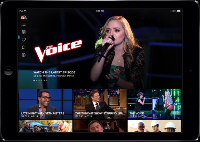 NBC for iOS 2.5.1 (iPad screenshot 001)