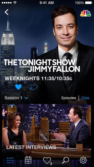 NBC for iOS 2.5.1 (iPhone screenshot 002)