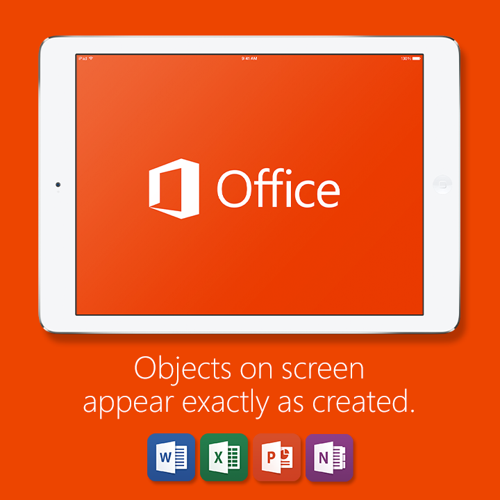 Office for iPAd (WYSIWYG)