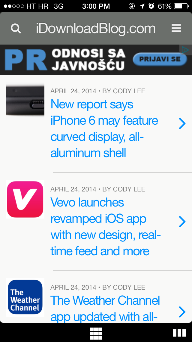 Opera Coast 3.0 for iOS (iPhone screenshot 007)