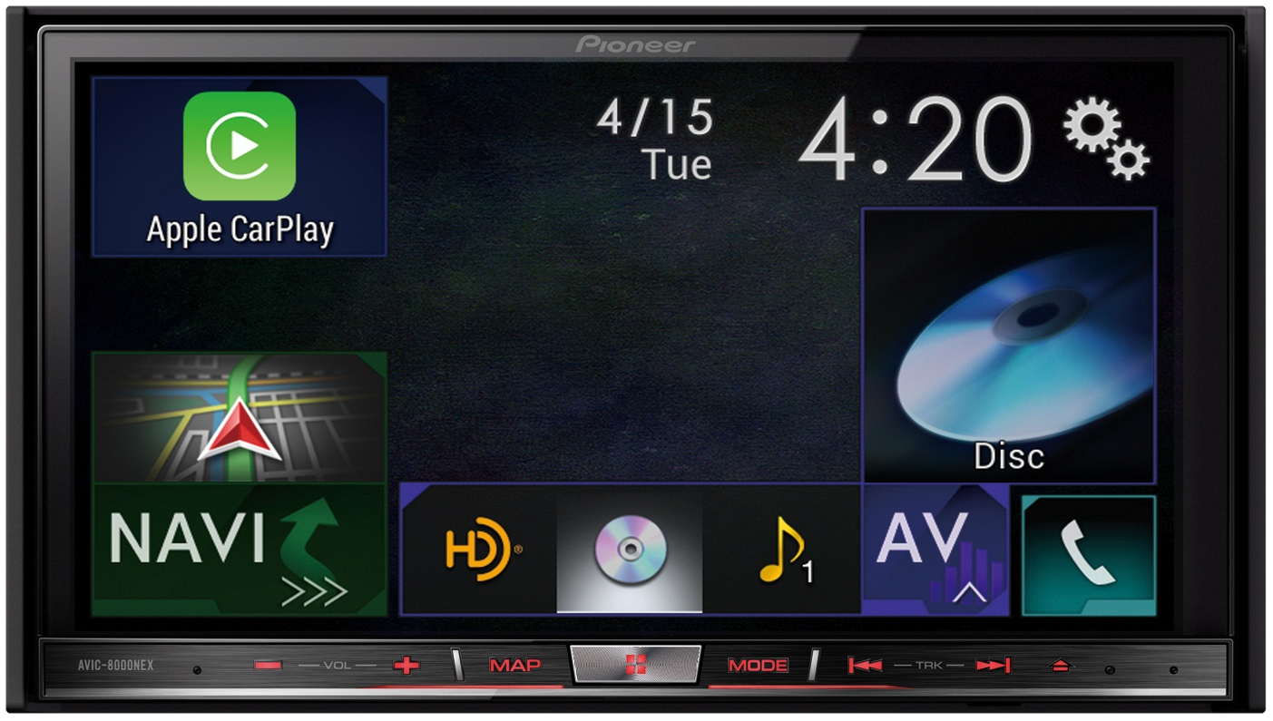 Pioneer AVIC 8000NEX with CarPlay
