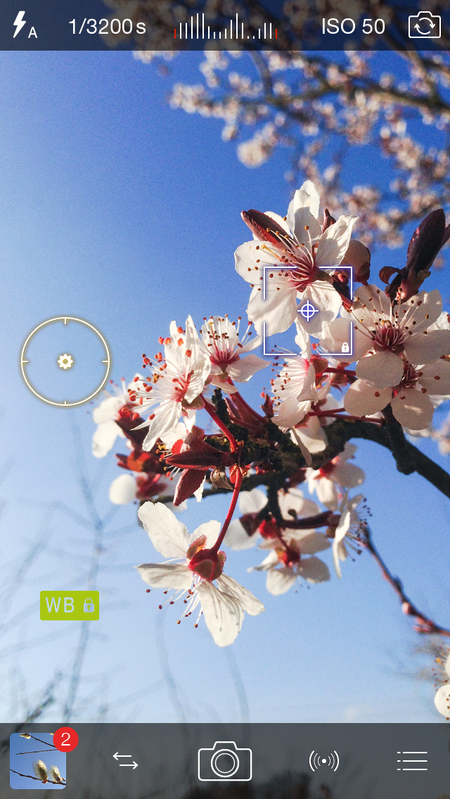 Pro Camera 7 for iOS (iPhone screenshot 001)