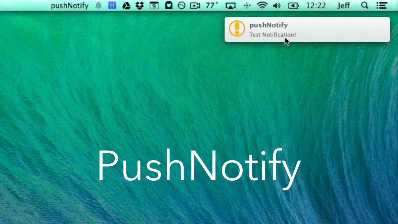 Upcoming 'PushNotify' tweak will let you forward push notifications from iOS to the Mac