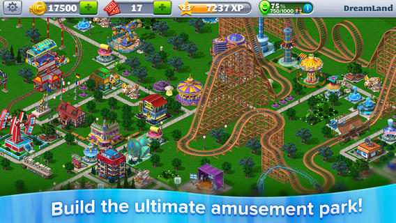 RollerCoaster Tycoon 4 Mobile 1.0 for iOS (iPhone screenshot 001)