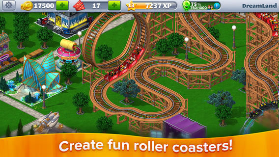 RollerCoaster Tycoon 4 Mobile 1.0 for iOS (iPhone screenshot 002)