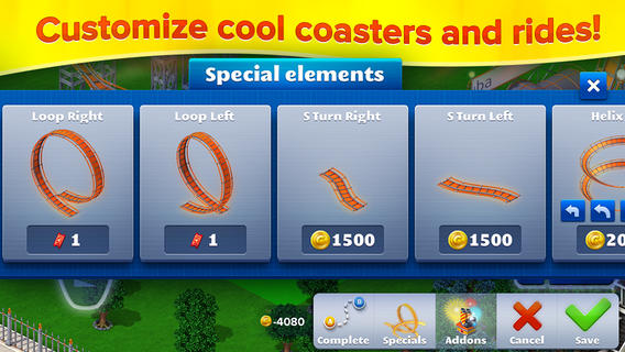 RollerCoaster Tycoon 4 Mobile for iOS is now available for download