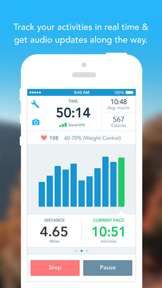 RunKeeper 4.5 for iOS (iPhone screenshot 002)