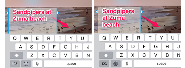 Skitch 3.1.1 for iOS (PAragraph text)