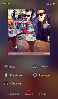 Skitch 3.1.1 for iOS (photo resizel)