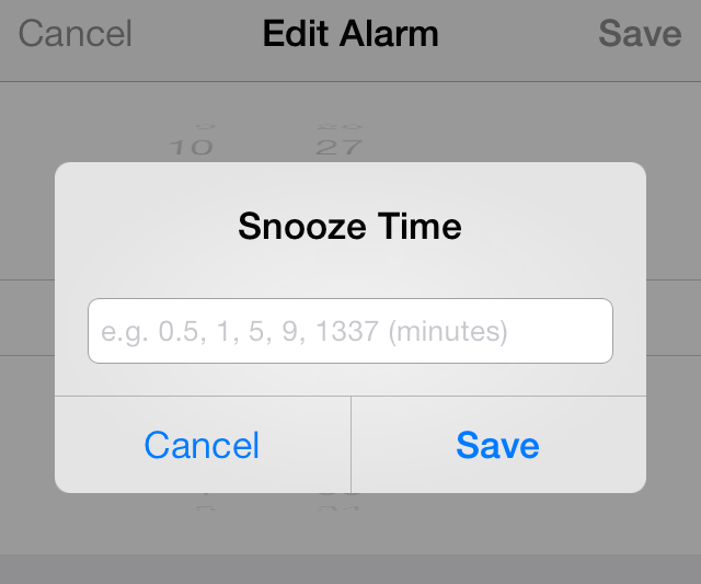 change snooze time on iphone snooze lets you establish custom snooze times for alarms 16784