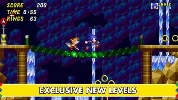 Sonic The Hedgehog 2 for iOS (iPhone screenshot 002)