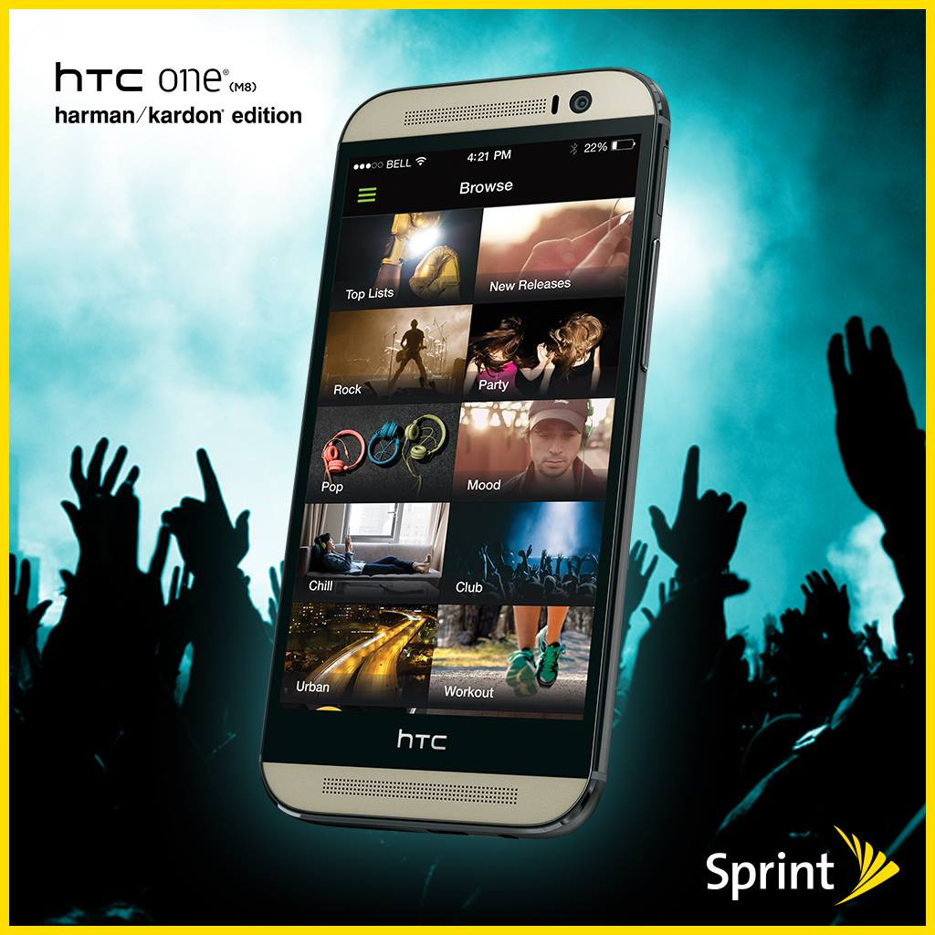 Sprint HTC M8 with Karman-Kardon
