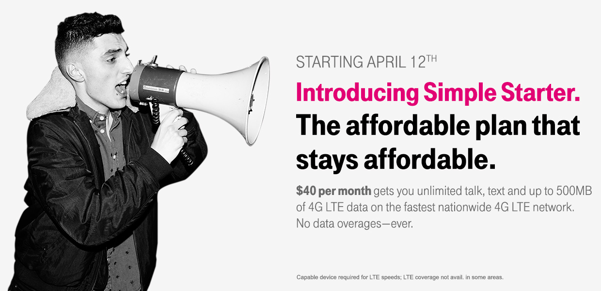 T-Mobile (Simple Starter Plan teaser 001)