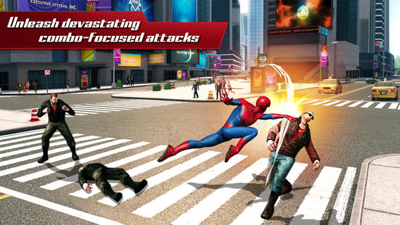The Amazing Spider-Man 2 1.0 for iOS (iPhone screenshot 001)