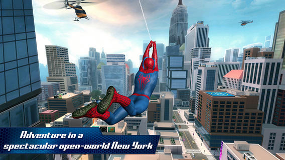 The Amazing Spider-Man 2 1.0 for iOS (iPhone screenshot 005)