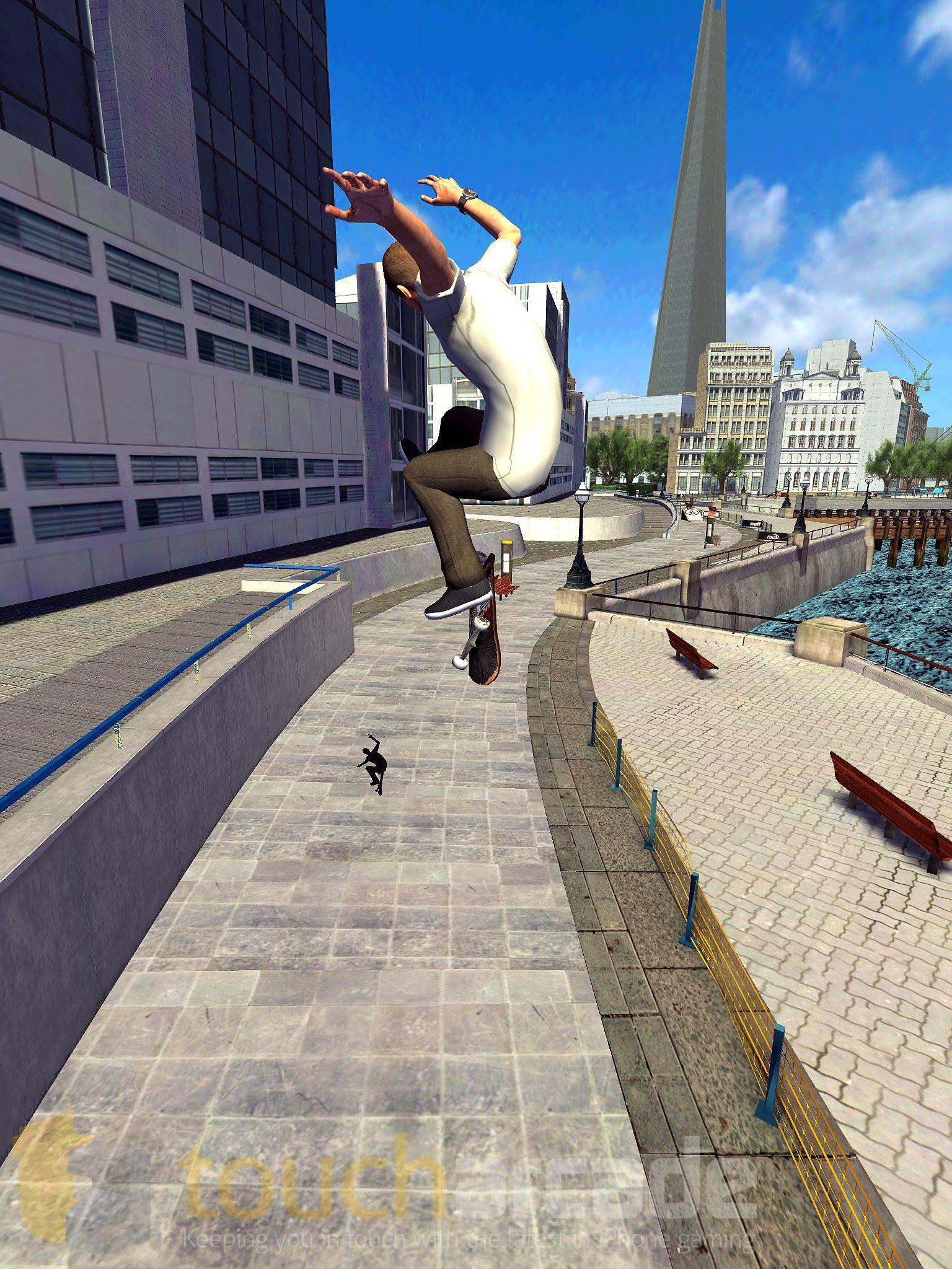 Tony Hawk Shred Session (iPhone screenshot 007)