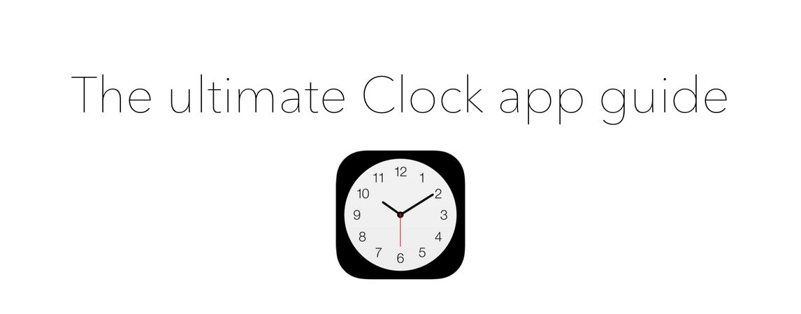 Ultimate Clock app guide header