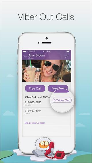 Viber 4.2 for iOS (iPhone screenshot 004)