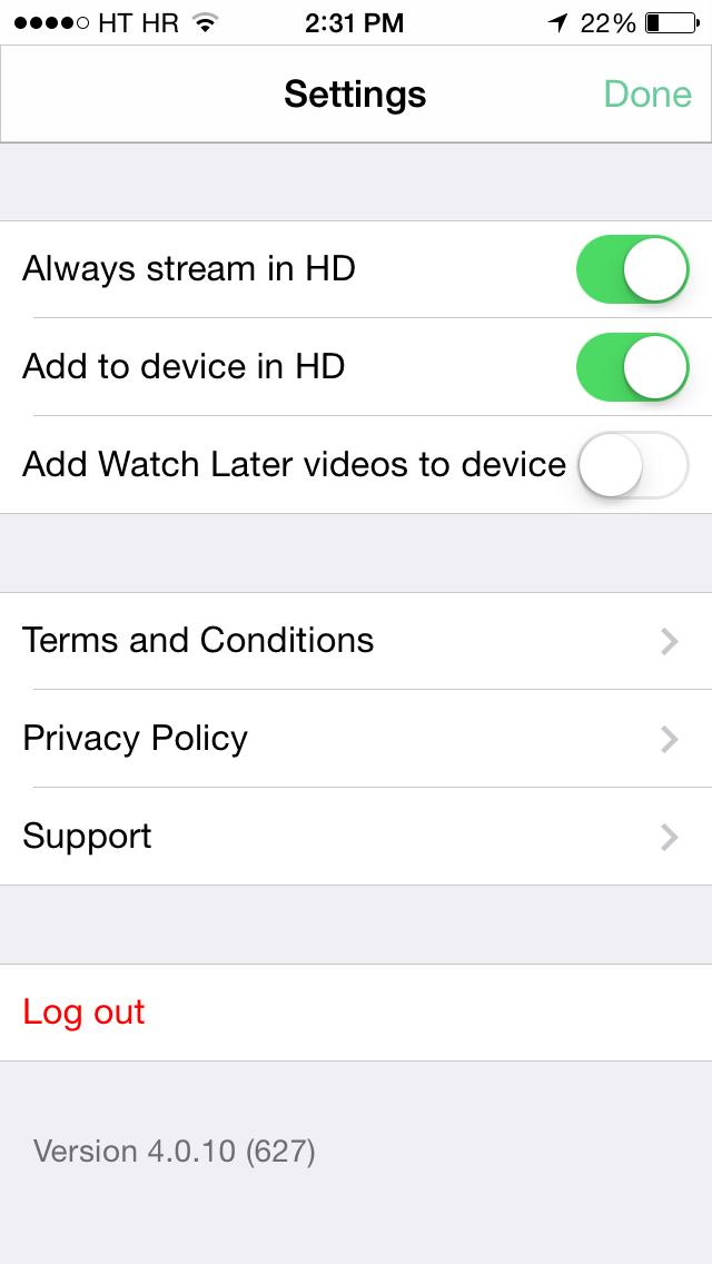 Vimeo 4.0.1 for iOS (iPhone screenshot 003)