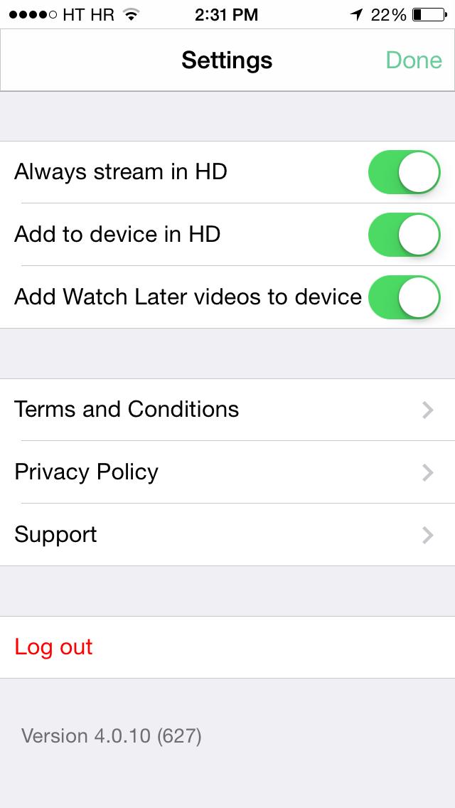 Vimeo 4.0.1 for iOS (iPhone screenshot 004)