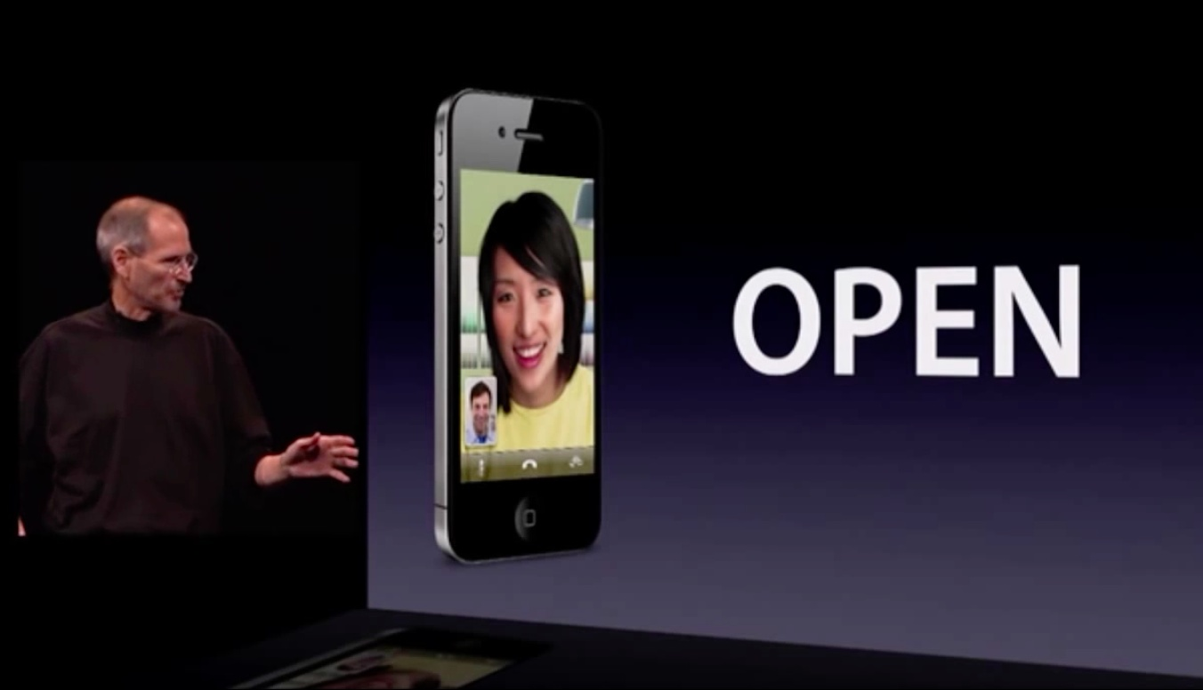 WWDC 2010 keynote (iPhone 4, FaceTime 003)
