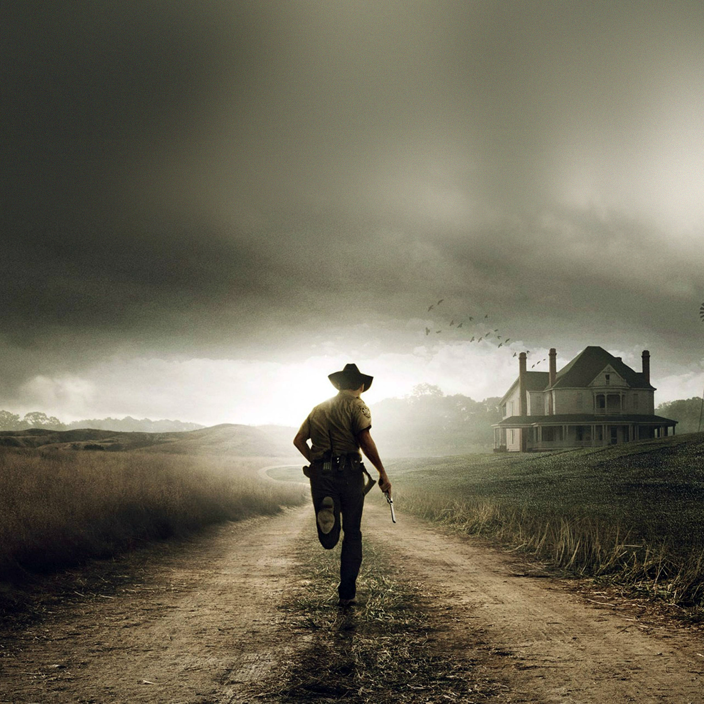 the walking dead wallpapers for iphone and ipad