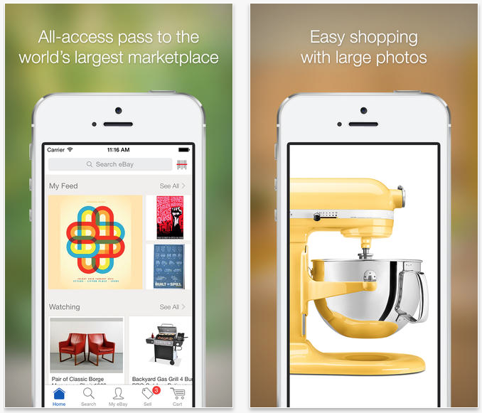 Ebay Gains Now Feature In App Alerts Better Search Bonus Offers Charity Donations And More