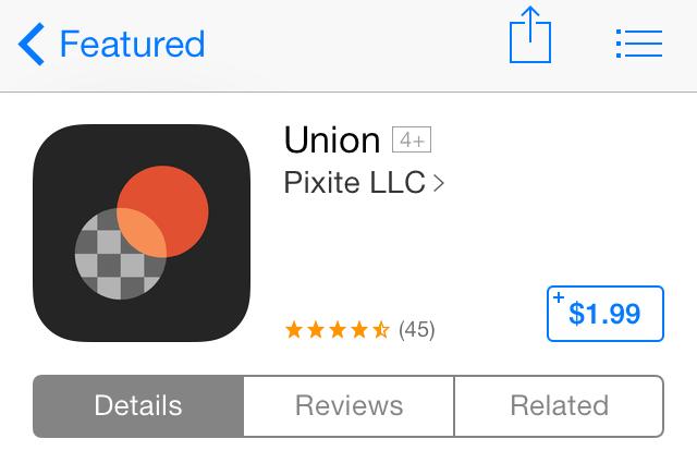 iOS 7 App Store Universal App