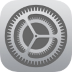 iOS 7 settings icon