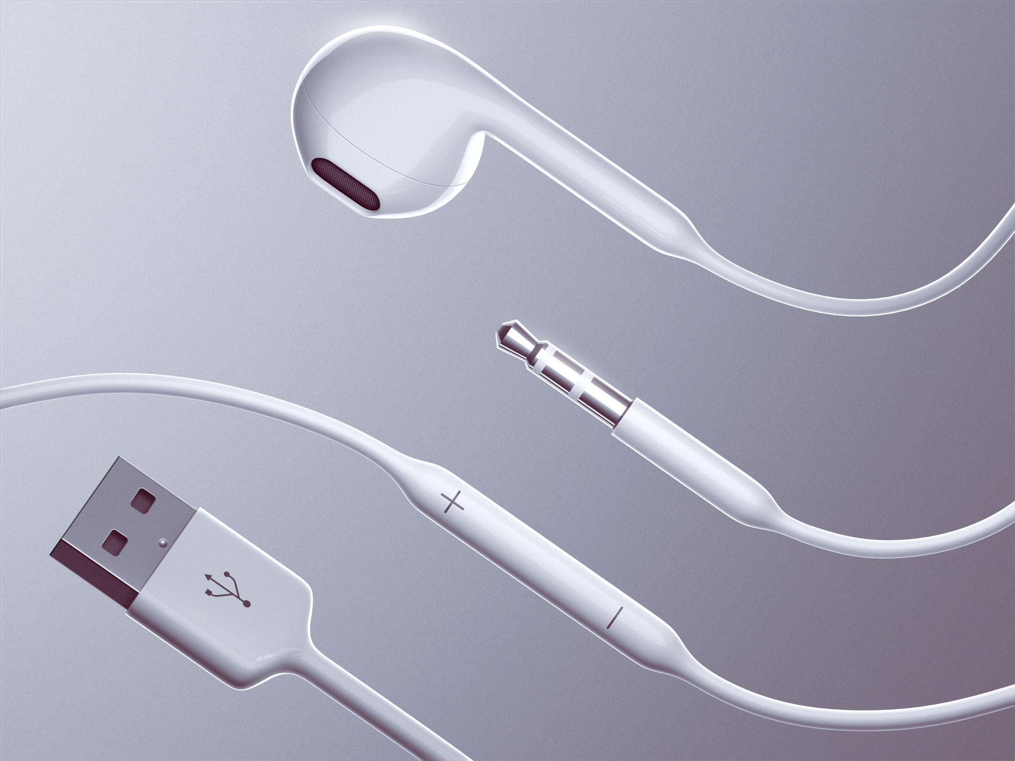 iPad pro concept (Ramotion, USB headphones)