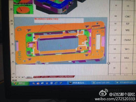 iPhone 6 schematics (CAD model 001)