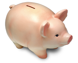 iTunes App Store allowance pig